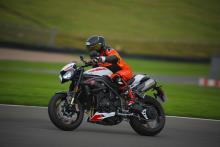 Visordown Track Day Donington Triumph Speed Triple RS