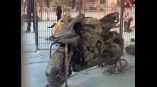 Motorcycles on fire, Circuit de Barcelona-Catalunya