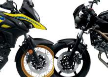 Suzuki SV650 and V-Strom 650 2021